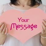 バレンタインのメッセージカード♪英語で思いを伝える一言!