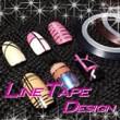 ラインネイルのデザイン♪ラインテープの2つの使い方はコレ!