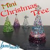 手作りミニクリスマスツリーの作り方!100均のLEDでおしゃれに♪