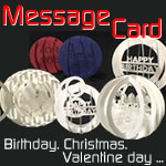 おしゃれな手作りメッセージカード♪立体の誕生日カードを画用紙で!