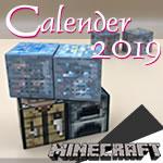 2019年版手作りカレンダー(マイクラver.)無料ダウンロード