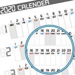 【2020年】A4サイズの手作り「年間カレンダー」無料ダウンロード!