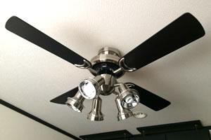 エアコンと扇風機の併用!
