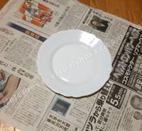 お皿をすばやく梱包する方法