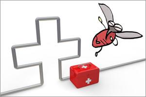 虫刺されで腫れや痛みが!刺された虫の種類によって異なる対処法!