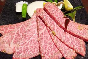 牛肉の部位と「カロリー」
