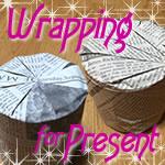プレゼント用ラッピング方法♪円柱形のおしゃれなラッピングとは?