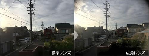 スマホカメラ用『広角レンズ』テスト撮影(背景)