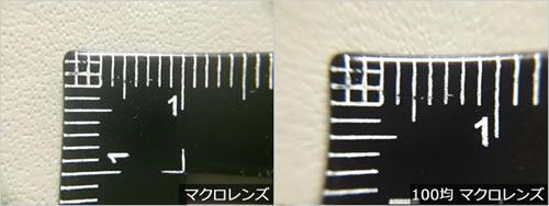 スマホカメラ用レンズで撮影比較!「MX-601マクロレンズ vs 100均マクロレンズ」