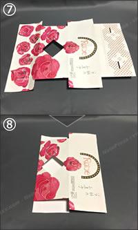 紙袋でできる「紙財布の簡単な作り方」手順 4