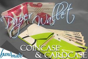 紙財布(小銭入れ・カードケース)の作り方!写真付きで詳しく解説♪