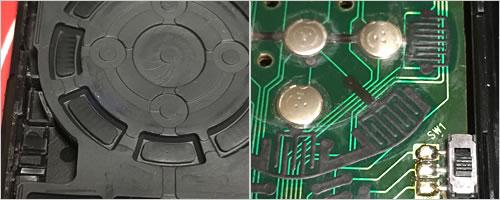 テレビなどのリモコンが故障!「自分で修理する方法(ボタン裏と基盤を掃除して導電性を復活)」