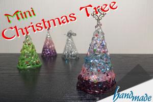 手作り卓上ミニクリスマスツリーの作り方!100均のLEDでおしゃれに♪