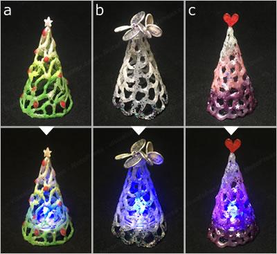 簡単手作り!ミニクリスマスツリー「バリエーション」