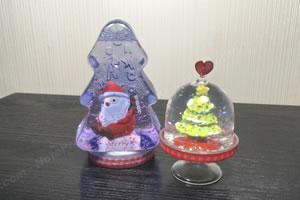 専用の容器を使用しない!手作りの「クリスマスのスノードーム」