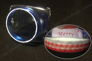 クリスマスのスノードームを手作り!「水漏れ防止の対策方法 1」