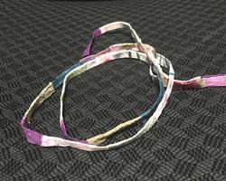 布リースの簡単な作り方「手作りの和風リース紐」