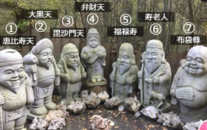 七福神の名前の覚え方!それぞれの神様の「特徴」