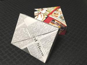 プレゼント用「箱(正方形)ラッピング」の方法!(スクエア包み)
