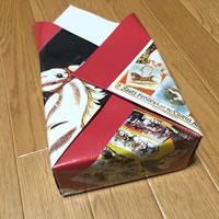 プレゼント用「箱ラッピングの方法(正方形)」手順 7