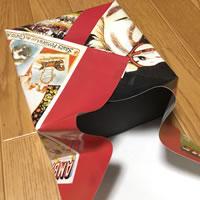 プレゼント用「箱ラッピングの方法(正方形)」手順 8