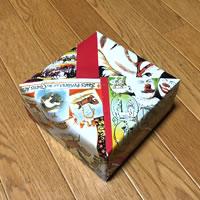 プレゼント用「箱ラッピングの方法(正方形)」手順 10