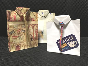 バレンタインデーや父の日のプレゼントに最適な「袋ラッピング」の方法♪