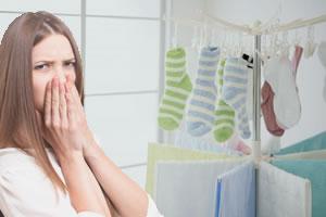 部屋干しの臭い対策!原因は?室内干しのコツと洗濯物の干し方とは!