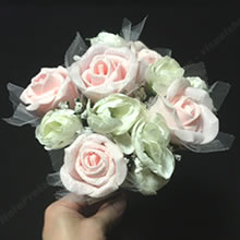 100均材料で手作り♪「母の日のプレゼント(花束)」の作り方 3