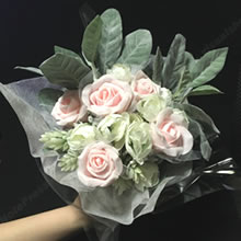 100均材料で手作り♪「母の日のプレゼント(花束)」の作り方 6
