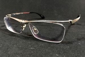 老眼・近視両用対策の跳ね上げ式メガネ「dun-2102」