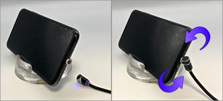 マグネット式USB充電ケーブルがおすすめの理由「コネクタ端子」