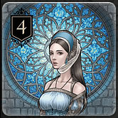 カードゲーム『XENO』のルール「カードの種類と効果 Rank4」