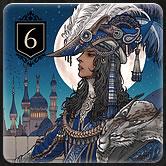 カードゲーム『XENO』のルール「カードの種類と効果 Rank6」