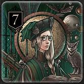 カードゲーム『XENO』のルール「カードの種類と効果 Rank7」