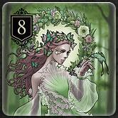 カードゲーム『XENO』のルール「カードの種類と効果 Rank8」