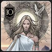 カードゲーム『XENO』のルール「カードの種類と効果 Rank10」
