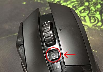 ロジクール(logicool)のおすすめゲーミングマウス「G502」(ワンタッチでホイールの設定を切り替え)