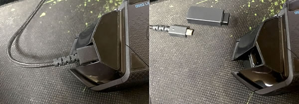 ロジクール(logicool)のおすすめゲーミングマウス G502 比較「G502 HEROとの違い(コネクター部)」