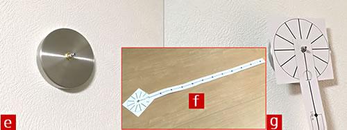 掛け時計でおしゃれなインテリアに♪「リビングや寝室の壁に設置 3」