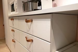 キッチンのポリ袋を使いやすく収納!ティッシュ箱で簡単手作り♪