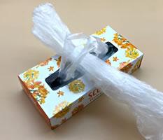 レジ袋収納をティッシュ箱で手作り♪「収納方法 2」