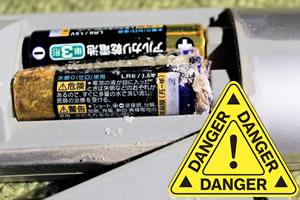 リモコンにはマンガン電池が最適!100均のアルカリ電池は危険!?