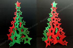 手作りクリスマスツリーの作り方 手順4