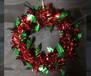 簡単な手作りクリスマスリースの作り方 手順1