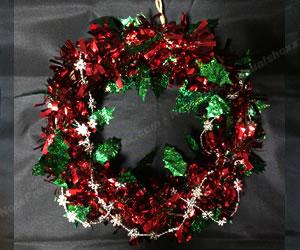 簡単な手作りクリスマスリースの作り方 手順2
