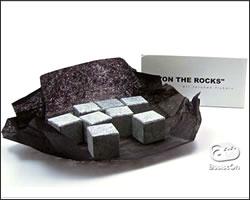 男性へ贈る送別会のおすすめプレゼント 6「溶けない氷 ON THE ROCKS」