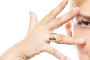 平均的な女性の指輪サイズ