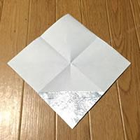 折り紙「かぶとの折り方 2」