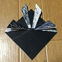 折り紙「かぶとの折り方 7」